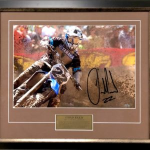 Chad Reed 2006 yamaha Signed AMA Supercross