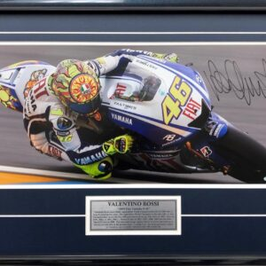 Valentino Rossi Signed Yamaha MotoGP World Champion Memorabilia