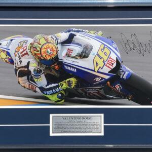 Valentino Rossi Signed MotoGP Yamaha Memorabilia