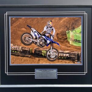 James Stewart Hang Time Signed AMA Supercross memorabilia