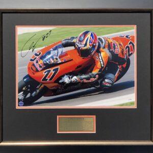 Casey Stoner 2004 KTM Signed Memorabilia MotoGP