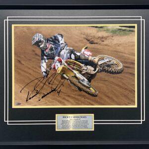 Ricky Carmichael Signed AMA Grand Finales Supercross Fox Racing Suzuki