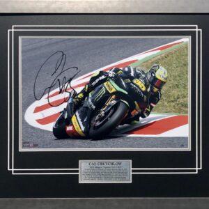 Cal Crutchlow 2013 Signed Monster Energy MotoGP Memorabilia