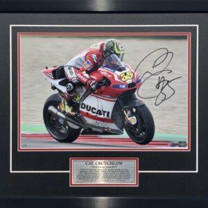 Cal Crutchlow Ducati Signed MotoGP Memorabilia