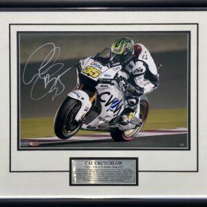 Cal Crutchlow 2015 LCR Honda Signed MotoGP Memorabilia