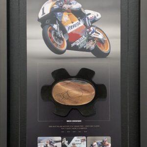 Mick Doohan Worn Knee slider 500cc champion