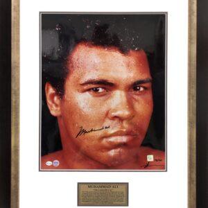 Muhammad Ali Signed Boxing Memorabilia Neil Leifer Memorabilia