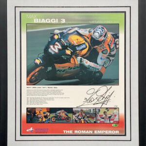 Max Biaggi Signed MotoGP Memorabilia