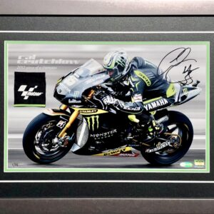 Crutchlow 2012 Monster Energy Yamaha MotoGP Memorabilia