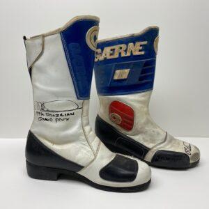Mick Doohan 1992 Worn Boots MotoGP 500cc