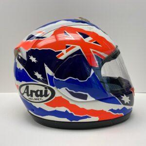 Mick Doohan 1996 ARAI worn helmet MotoGP 500cc