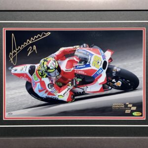 Andrea Iannone Signed Ducati Memorabilia MotoGP