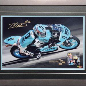 Danny Kent Moto3 World Champion Memorabilia Signed