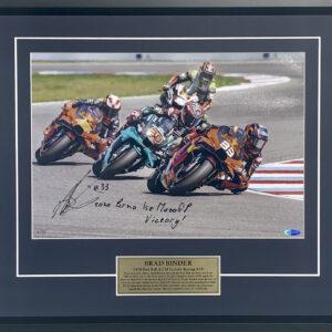 Brad Binder signed KTM MotoGP Memorabilia