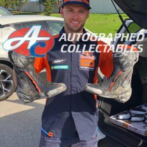 Brad Binder Signed KTM MotoGP Boots