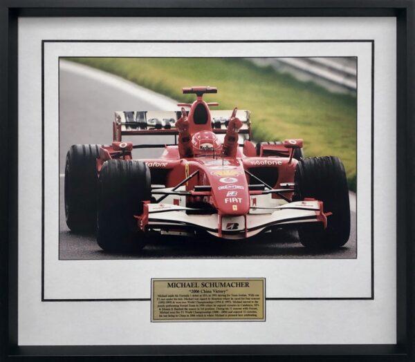Michael Schumacher Ferrari Memorabilia