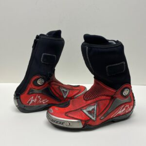 Jack Miller 2020 signed and worn boots MotoGP Pramac Ducati
