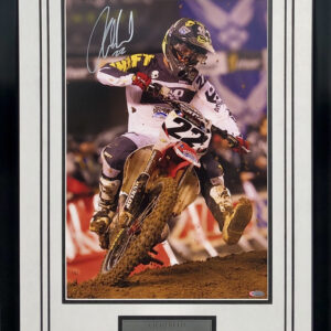 Chad Reed Signed AMA memorabilia two two motorsports