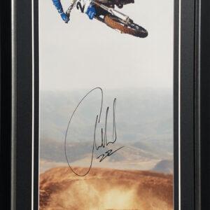Chad Reed signed yamaha memorabilia motocross