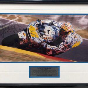 Valentino Rossi 2001 Mugello Honda Memorabilia