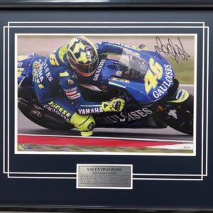 Valentino Rossi Signed Yamaha MotoGP Memorabilia
