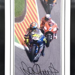 Valentino Rossi 2008 Mugello MotoGP signed photo