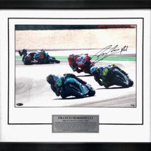 Franco Morbidelli 1st MotoGP Victory signed Memorabilia