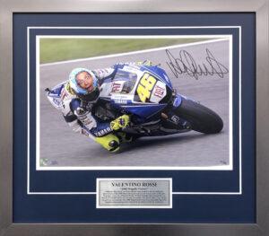 Valentino Rossi 2008 Mugello Photo signed MotoGP Memorabilia