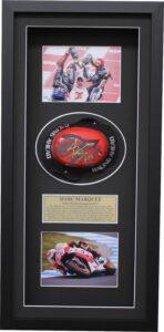 Marc Marquez 2014 Signed Knee Slider MotoGP Repsol Honda
