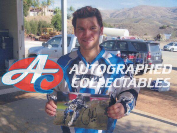 Chad Reed Yamaha Memorabilia signed