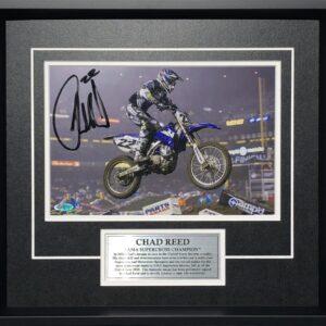 Chad Reed Signed AMA Supercross yamaha Photo