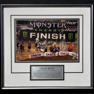 Chad Reed Suzuki Victory AMA signed memorabilia