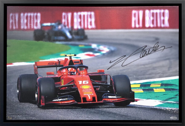 Charles Leclec 2019 Monza Victory Ferrari Memorabilia
