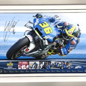 Joan Mir 2020 MotoGP World Champion signed memorabilia