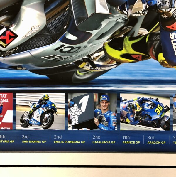 Joan Mir 2020 signed Memorabilia MotoGP Suzuki