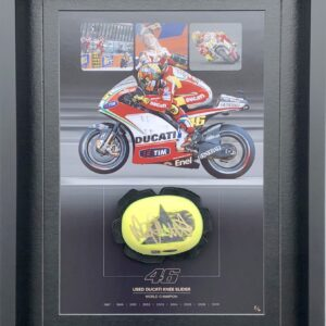 Valentino Rossi Ducati Knee Slider MotoGP Memorabilia