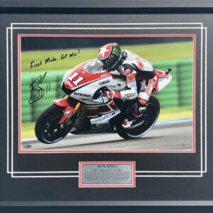 Ben Spies 2011 Assen Victory MotoGP memorabilia