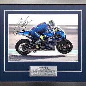 Joan Mir 2021 Signed MotoGP Suzuki memorabilia
