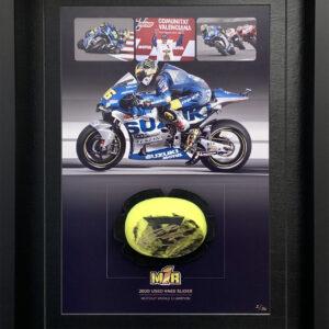 Joan Mir 2020 Worn Knee Slider Suzuki MotoGP