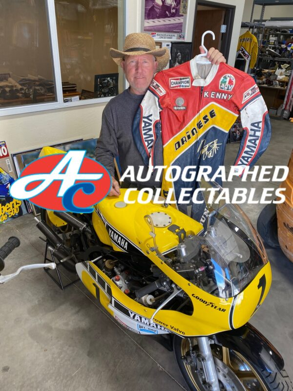 Kenny Roberts Snr Worn Dainese Leathers 500cc