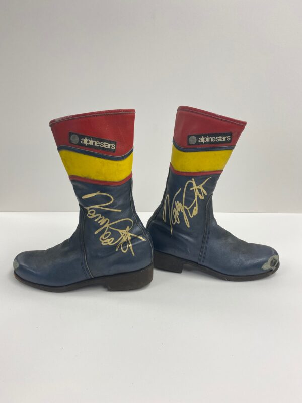 Kenny Roberts Snr 1982 Worn Boots