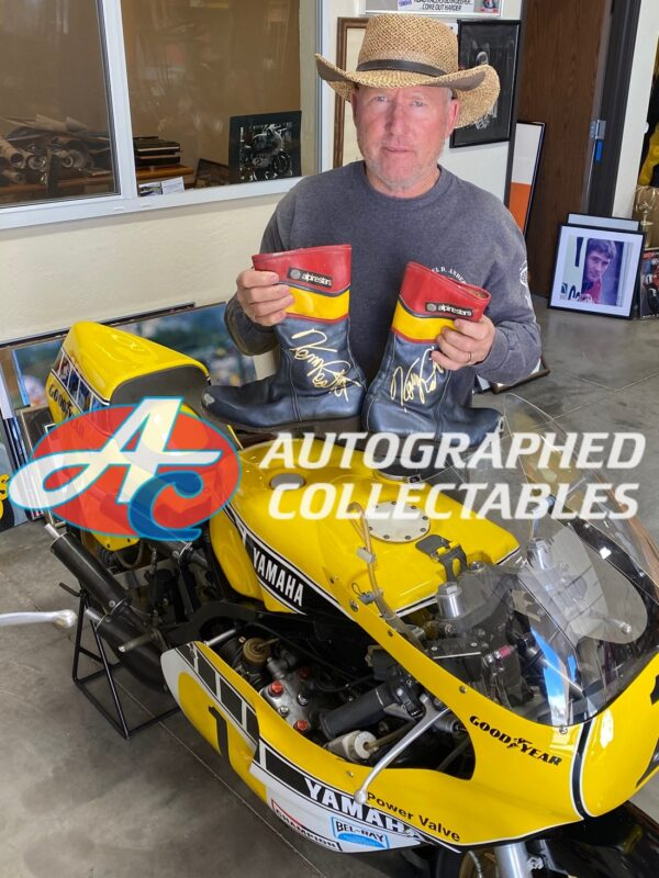 Kenny Roberts 1982 Boots Authenticity