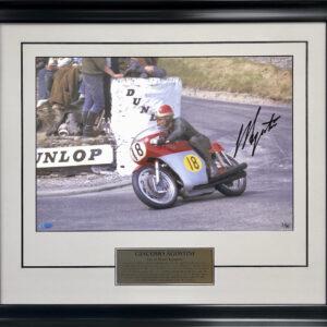 Giacomo Agostini signed memorabilia