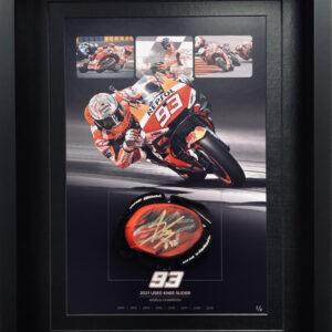 Marc Marquez MotoGP Memorabilia Knee Sliders