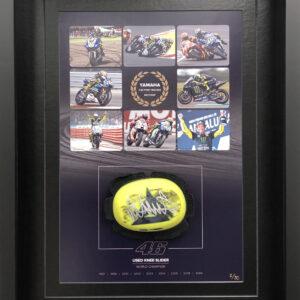 Valentino Rossi yamaha motogp Retirement Knee Slider