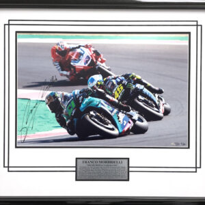 Franco Morbidelli signed MotoGP Yamaha memorabilia